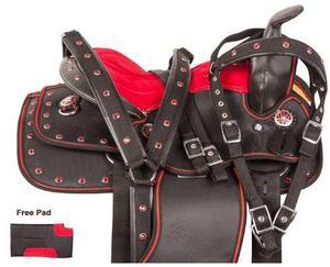 Montura Para Caballo Pony Medida 10 12 13 Pulgadas / J