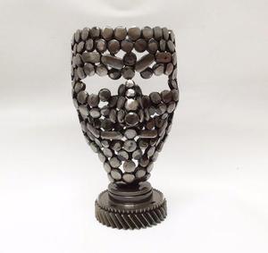 Máscara / Escultura De Metal