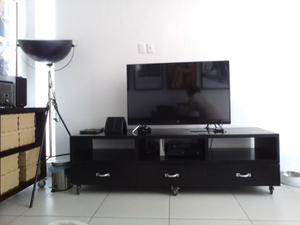Mueble Tv Moda In Casa Centro Entretenimiento Sala Madera