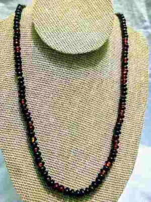 Paquete De Ambar Rojo(collar,pulsera,aretes Y Anillo)
