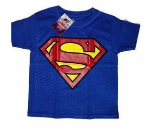 Playera Niño Superman Logo Original Dc Comics