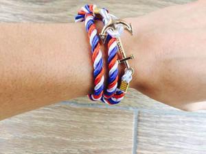Pulsera Ancla Anchor France, Multicolor, Moda, Geek