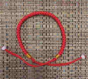 Pulsera Hilo Rojo Tibetana Nudos De Protección, Original