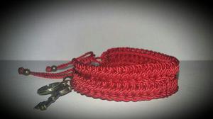 Pulsera Roja De Protección San Benito (lote 2 Pzas)