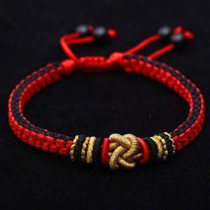Pulsera Tibetana Amuleto Budista Nudo Chino Macrame