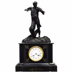 Reloj De Mesa Con Escultura De Violinista