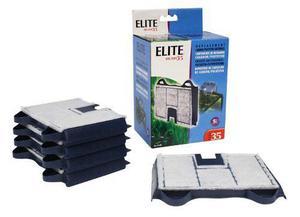 Repuesto Filtro Cascada Elite 35 Carbon/poliester Acuarios