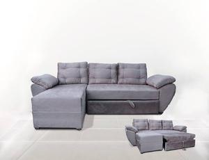 Bonito sofa modular de microfibra saltillo posot class Sofa cama modular