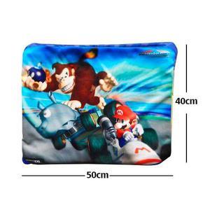 Super Mario Bros Donkey Kong Almohada De 40 X 50cm