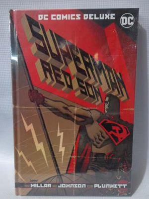 Superman Red Son (hijo Rojo) Dc Deluxe Pasta Dura