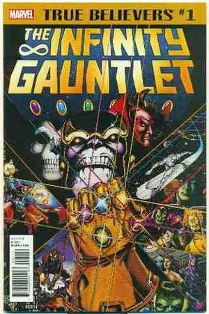 The Infinity Gauntlet 1 Marvel Comics Avengers War Ingles