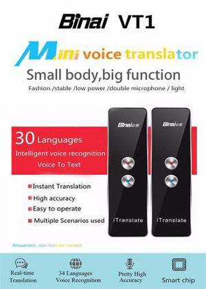 Traductor De Voz En Tiempo Real Mas 30 Idiomas