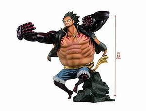 Una Pieza Del Mono D Luffy Figura, Esculturas Gran Zoukeio E