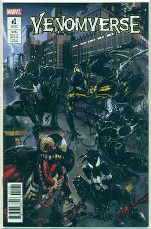 Venomverse 1 Marvel Comics Clayton Crain Variant