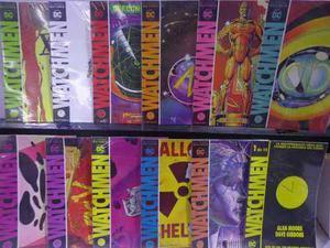 Watchmen Serie Completa Vol.1 Al 12 Dc Comic´s Televisa