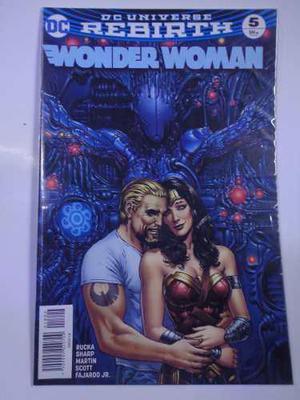 Wonder Woman Rebirth Vol.5 Dc Comic´s Televisa 2018