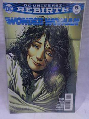 Wonder Woman Rebirth Vol.8 Dc Comic´s Televisa 2018