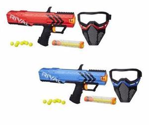 2 Lanzadores +2 Mascaras Nerf Rival + 28 Pelotas