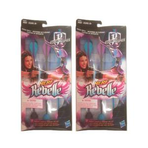 2 Paquetes De Flechas Nerf Rebelle De Repuesto Hasbro Nuevos
