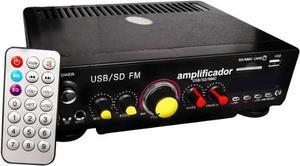 Amplificador 150w Para Perifoneo Usb Sd Con Eco Y Radio Fm