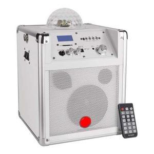 Amplificador Bluetooth Portátil De 125 W Pmpo Con Esfera De