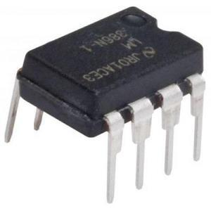 Amplificador De Audio, De 1 Watt, 15 Volts, 8 Pines | Lm386