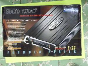 Amplificador De Carro Solid Audio F.27
