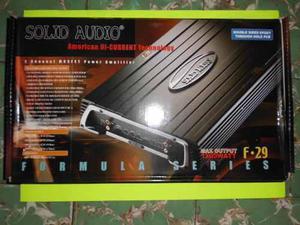 Amplificador De Carro Solid Audio F.29