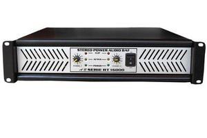 Amplificador De Poder Modelo Rt 16,000 Audio Baf