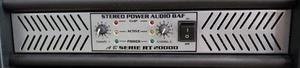 Amplificador De Poder Modelo Rt 20,000 Audio Baf Power