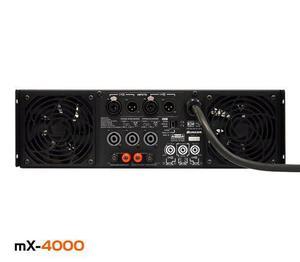 Amplificador De Potencia Bunker 4000w, Mx-4000