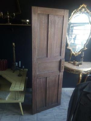 Antigua Puerta De Madera, Para Decoración, Para Mesa