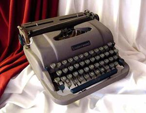 Antigua Retro Vintage Maquina De Escribir Underwood