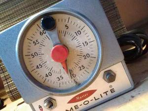 Antiguo Timer Temporizador Industrial Fabricado En Usa