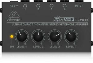 Behringer Ha400 Amplificador Para Audifonos Meses S/i