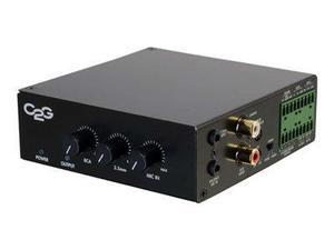 C2g 50w Audio Amplificador (plenum Rated) - Amplificador