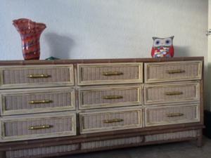 Cajonera de madera Vintage