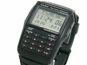 Casio Dbc32 Caucho Calculadora 8dig Data Bank Luz, Wr