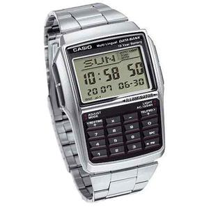 Casio Dbc32 Metal Data Bank Calculadora 8 Dígitos Luz