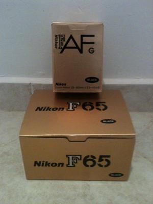 Cámara Nikon tipo Reflex. NUEVA