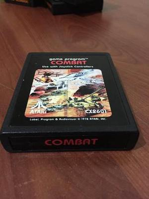 Combat De Atari 2600 Juego De Consola Retro Videojuego Tanke