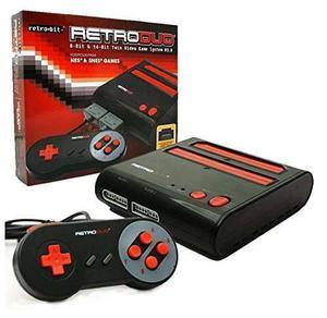 Consola De Videojuegos Retro-bit Retro Doble Nes Y Snes V3.0