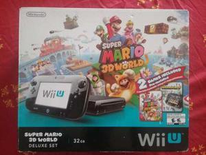 Consola De Videojuegos Wii U Super Mario 3d World Deluxe Set