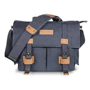 Dslr Slr Camera Case,vintage Canvas Shoulder Messenger Bag S