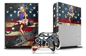 Etiqueta De La Piel Del Diseñador Para La Consola De Xbox O