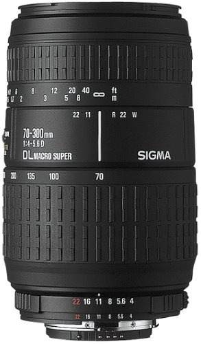 Lente Macro Sigma  Mm F 456 Dl Para Cámaras Nikon Slr