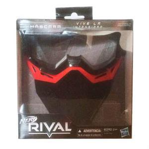 Mascara Nerf Rival Roja De Protección Hasbro Nueva
