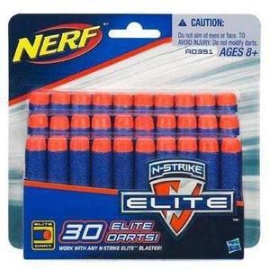 Nerf Paquete De 30 Dardos Elite
