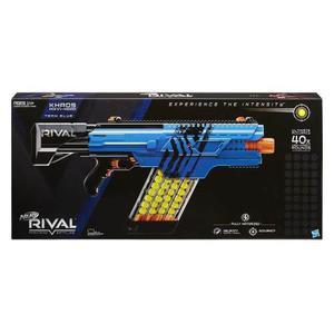 Nerf Rival Khaos Mxvi-4000 Azul Electronico Hasbro