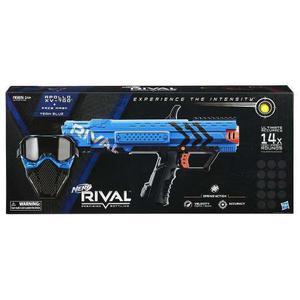 Nerf Rival Mascara Y Apollo Xv 700 Azul Mas 14 Proyectiles
